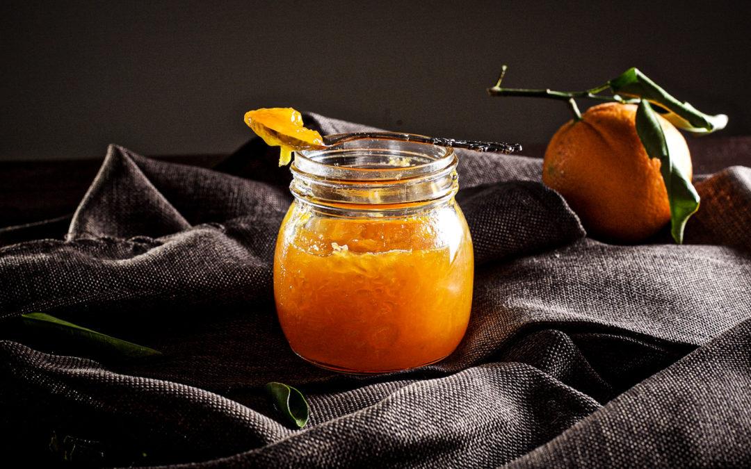 Orangen-Möhren-Konfitüre