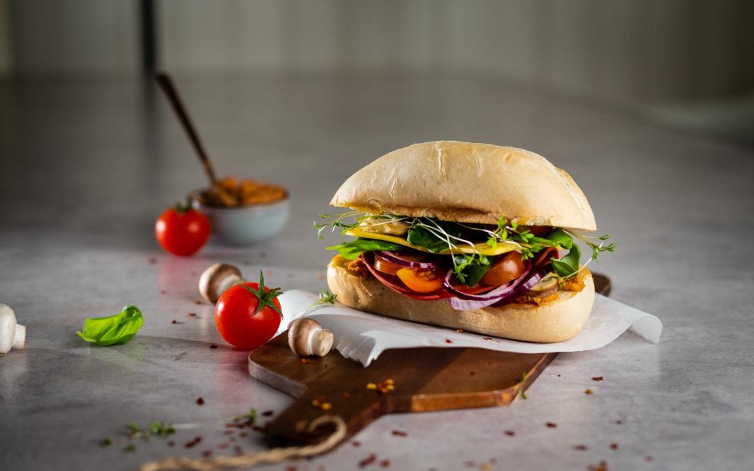 Tomaten-Käse-Sandwich