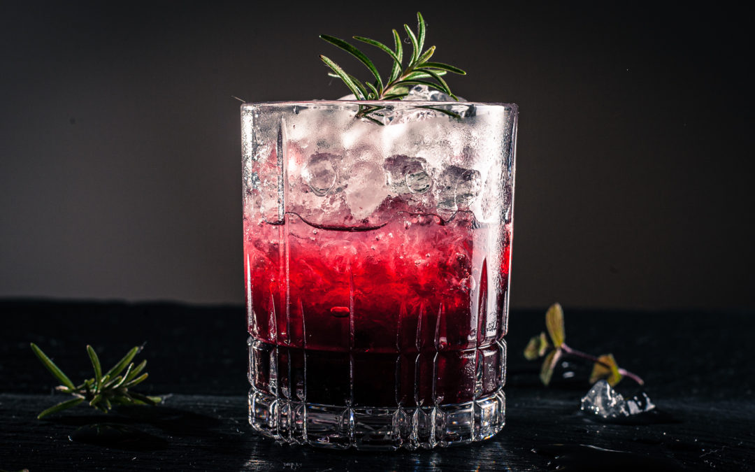 Blaubeeren-Cocktail