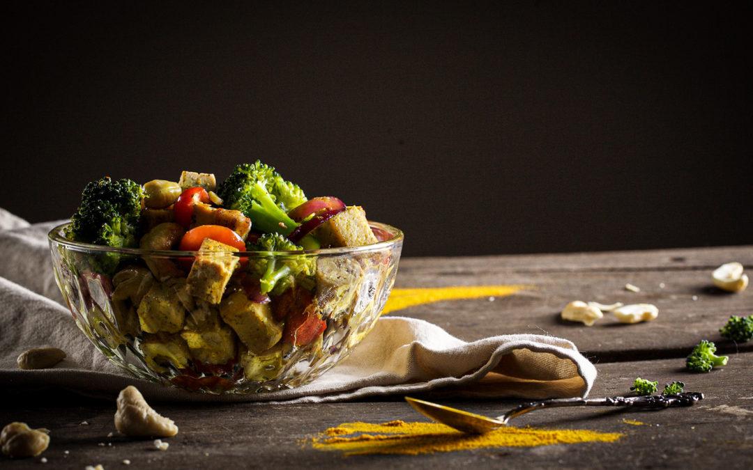 Brokkoli-Tofu-Pfanne