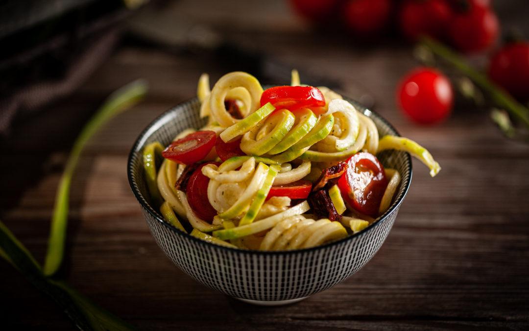 Zoodles-Salat