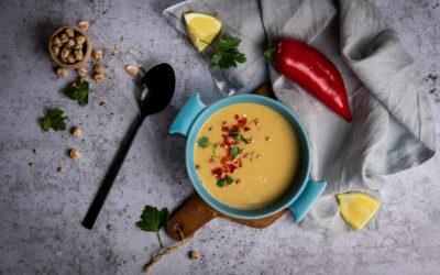 Hummus-Suppe