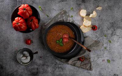 Tomaten-Linsen-Eintopf