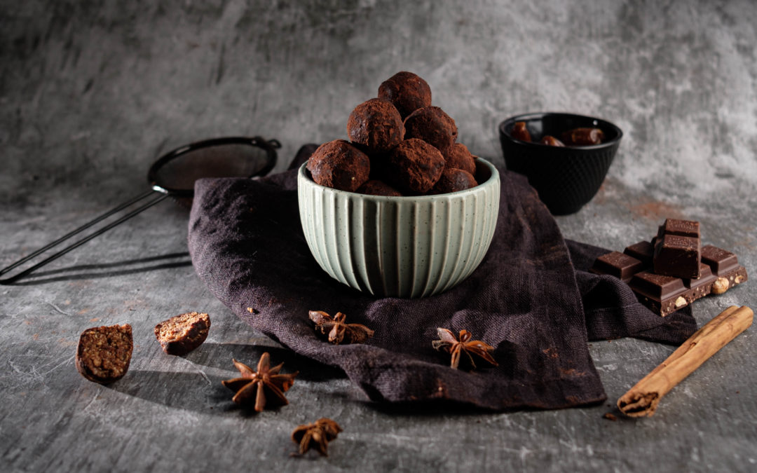 Lebkuchen-Bällchen