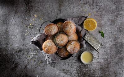 Vegane Zitronenmuffins
